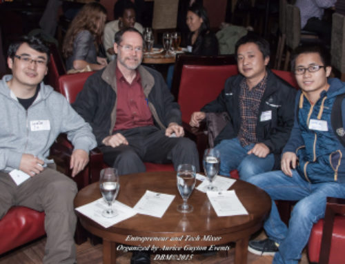 Entrepreneur and Tech Mixer at Jack London Square, January 2015
