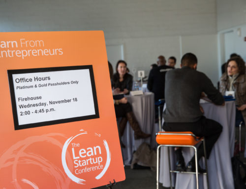 Speed Mentoring at Lean Startup Conference at Fort Mason SF