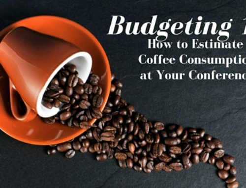 Small Budget? How to Estimate Coffee consumption at your Conference